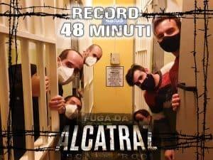 Record 48 minuti fuga da alcatraz