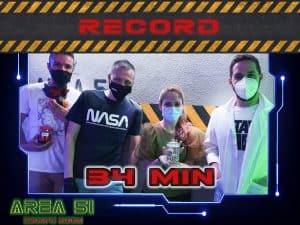 Record Area 51 Escape room