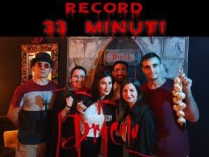 Record Dracula Escape Room Cagliari